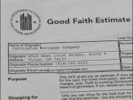 What Is The Good Faith Estimate?