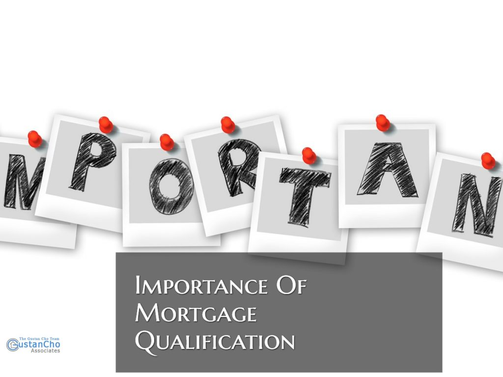 Importance Of Mortgage Qualification