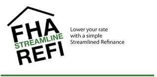 FHA Streamline Refinance With No Income Check