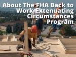 FHA Back To Work Mortgage In California