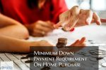 Minimum Down Payment Requirement On Home Purchase