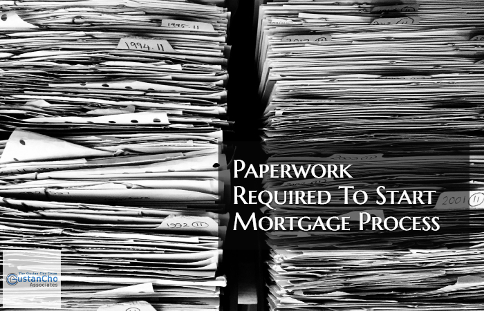 Important Paperwork Required For Mortgage Process