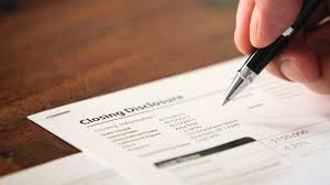 Closing Disclosure Form Replacing HUD