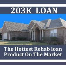 FHA 203k Rehab Mortgage Loan