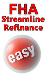 FHA Streamline Refinance Mortgage With Limited Documents
