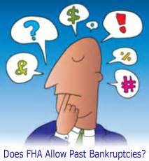 FHA Loan After Bankruptcy