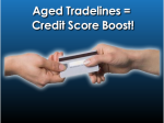 Adding Credit Tradelines To Boost Your Credit Scores