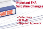 2016 FHA Guidelines On Credit Disputes