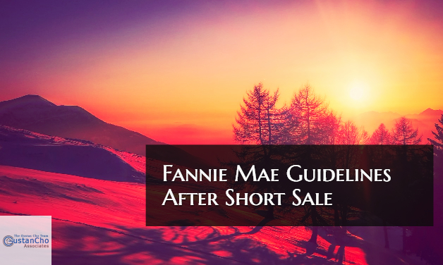 Fannie Mae Guidelines Mortgage After Short Sale