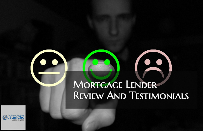 Mortgage Lender Reviews And Testimonials