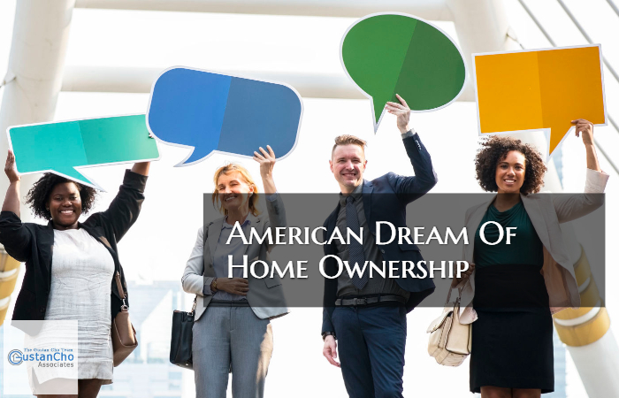 American Dream Of Home Ownership