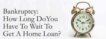 Conventional Loan After Bankruptcy Requirements