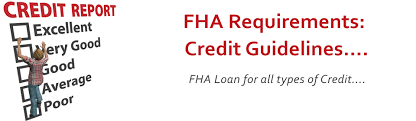 FHA Credit Guidelines