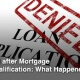 Reasons For Mortgage Loan Denial
