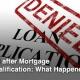Reasons For Mortgage Loan Denial