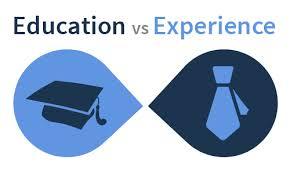 College Education Versus Work Experience