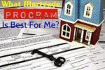 Types Of Mortgage Loan Programs