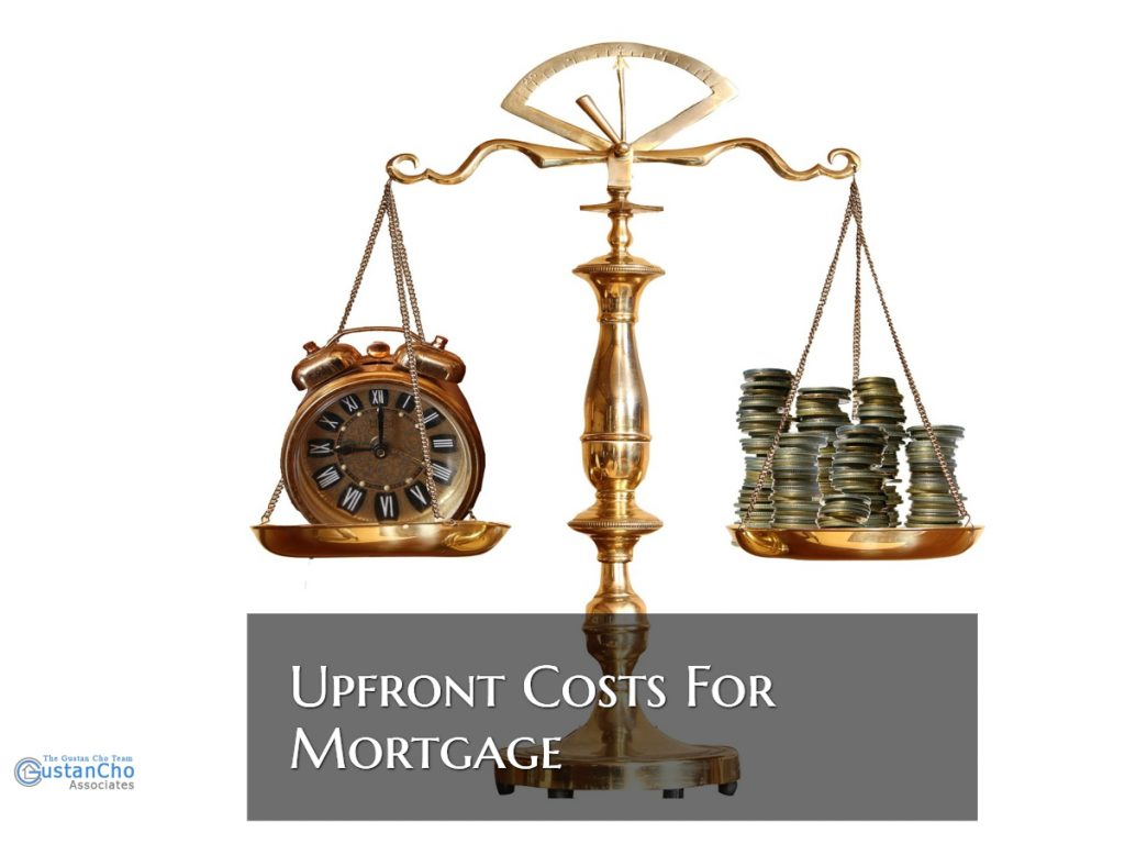 Upfront Costs For Mortgage
