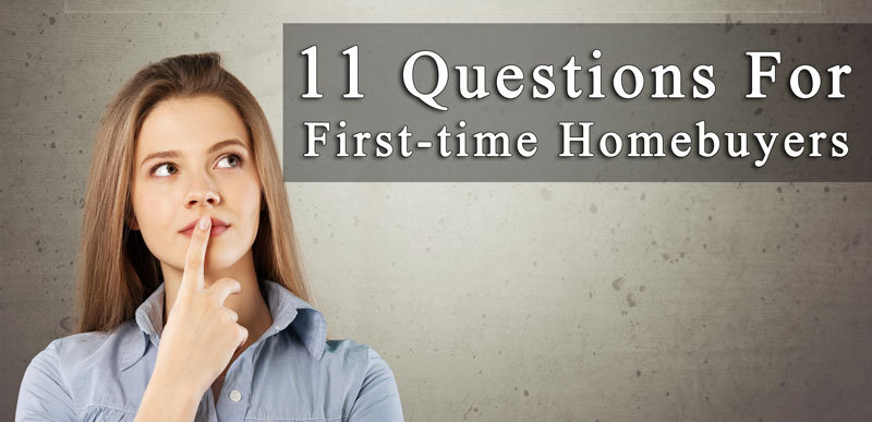 First-time Homebuyers Questions