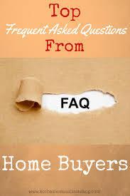 FAQ Mortgage Questions