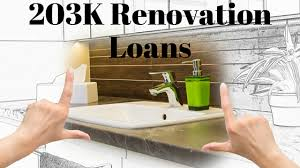 Types Of 203k Mortgage Loans