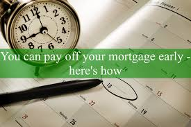Things You Must Know About Paying Off Your Mortgage