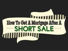 Home Loan After Short Sale