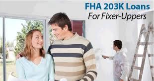 Standard FHA 203k Loans