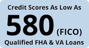 VA Loans With 580 Credit Scores