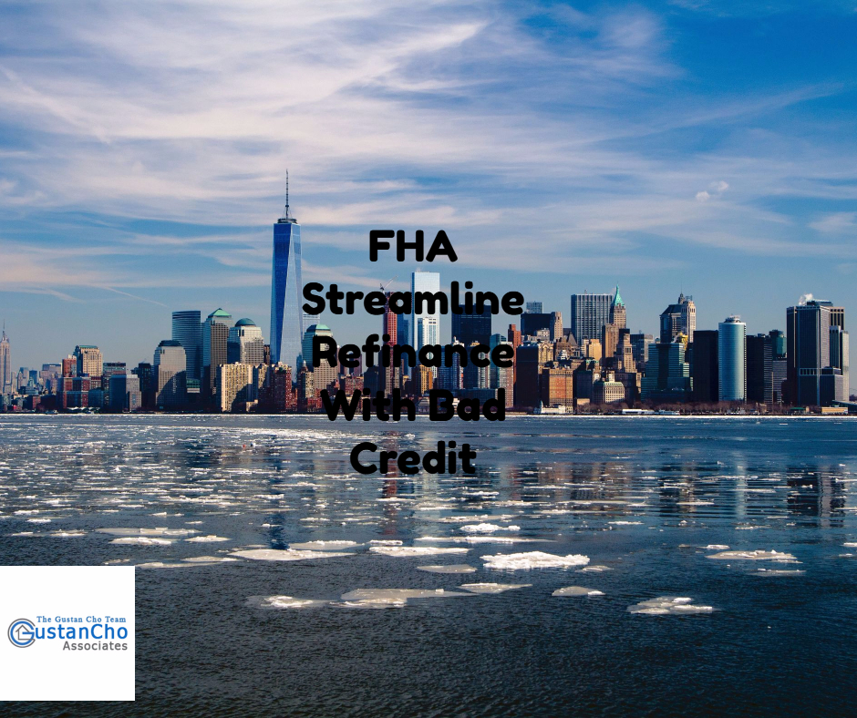 Loans For Bad Credit With Monthly Payments >> FHA Streamline Refinance With Bad Credit In Washington State