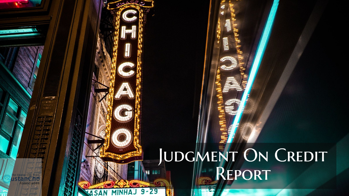Judgment On Credit Report And Mortgage Guidelines