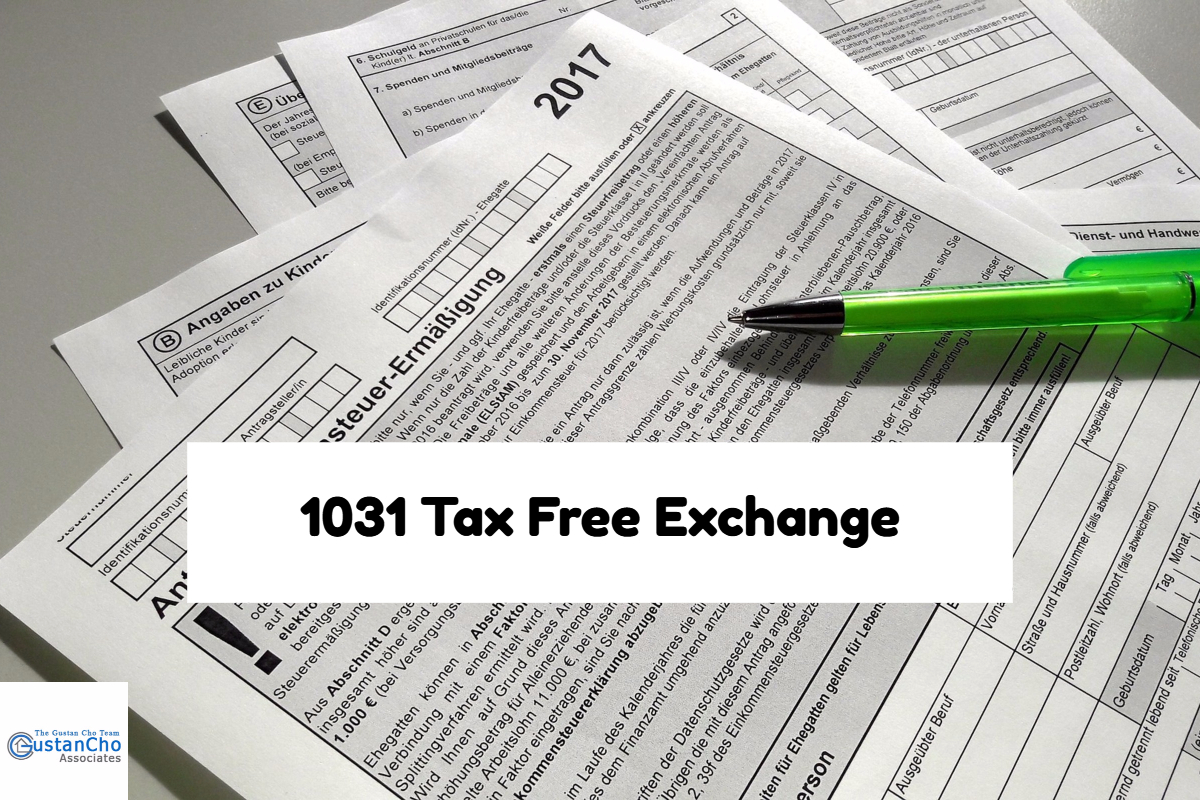 1031 Tax Free Exchange Real Estate