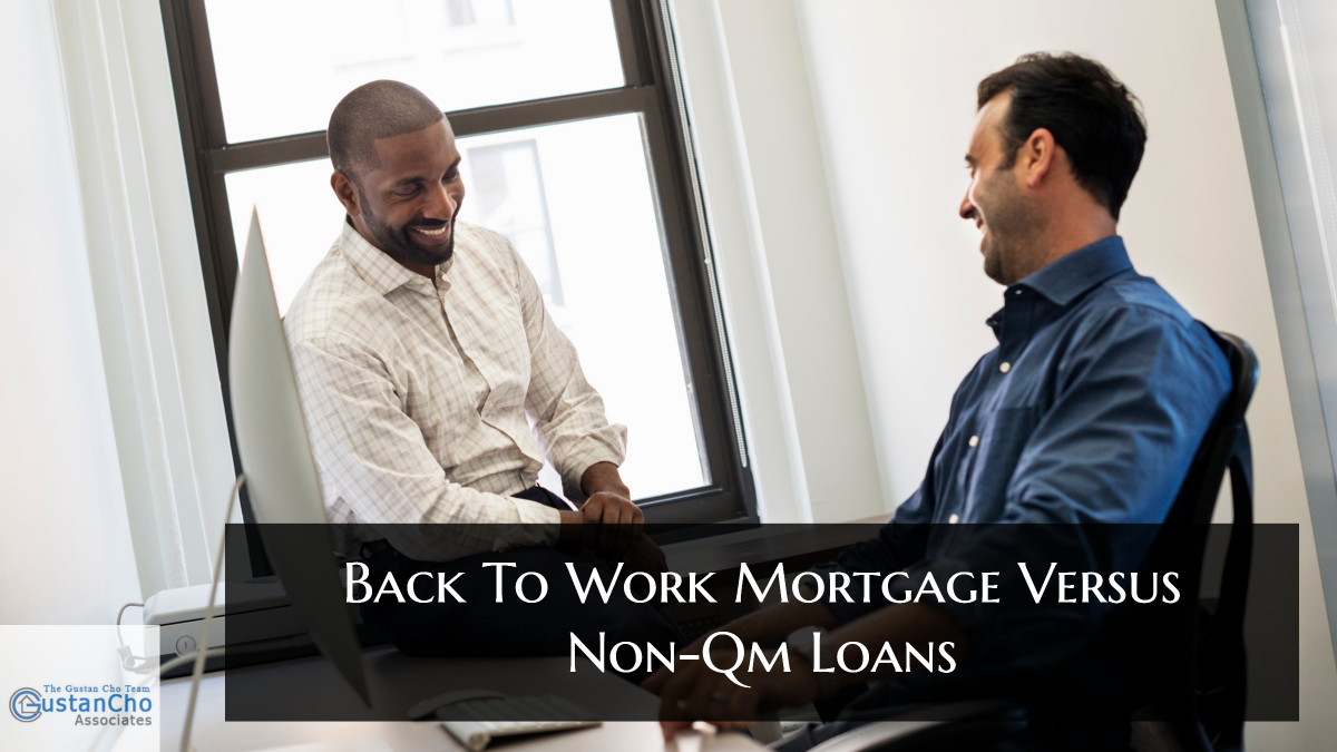 Back To Work Mortgage