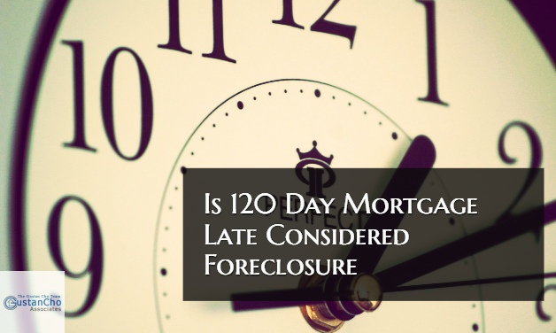 Is 120 Day Mortgage Late Considered Foreclosure