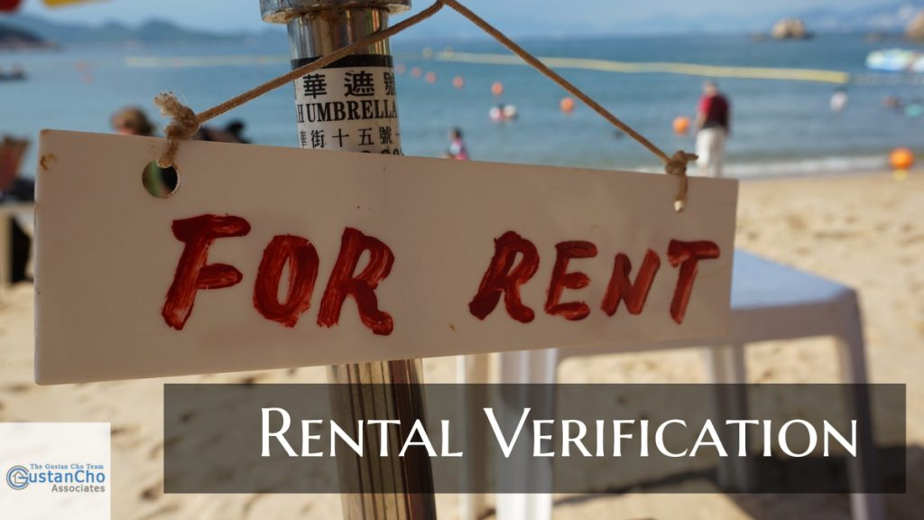 Rental Verification