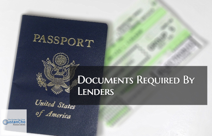 Documents Required By Lenders