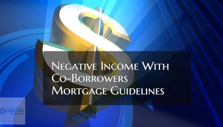 Negative Income With Co-Borrowers