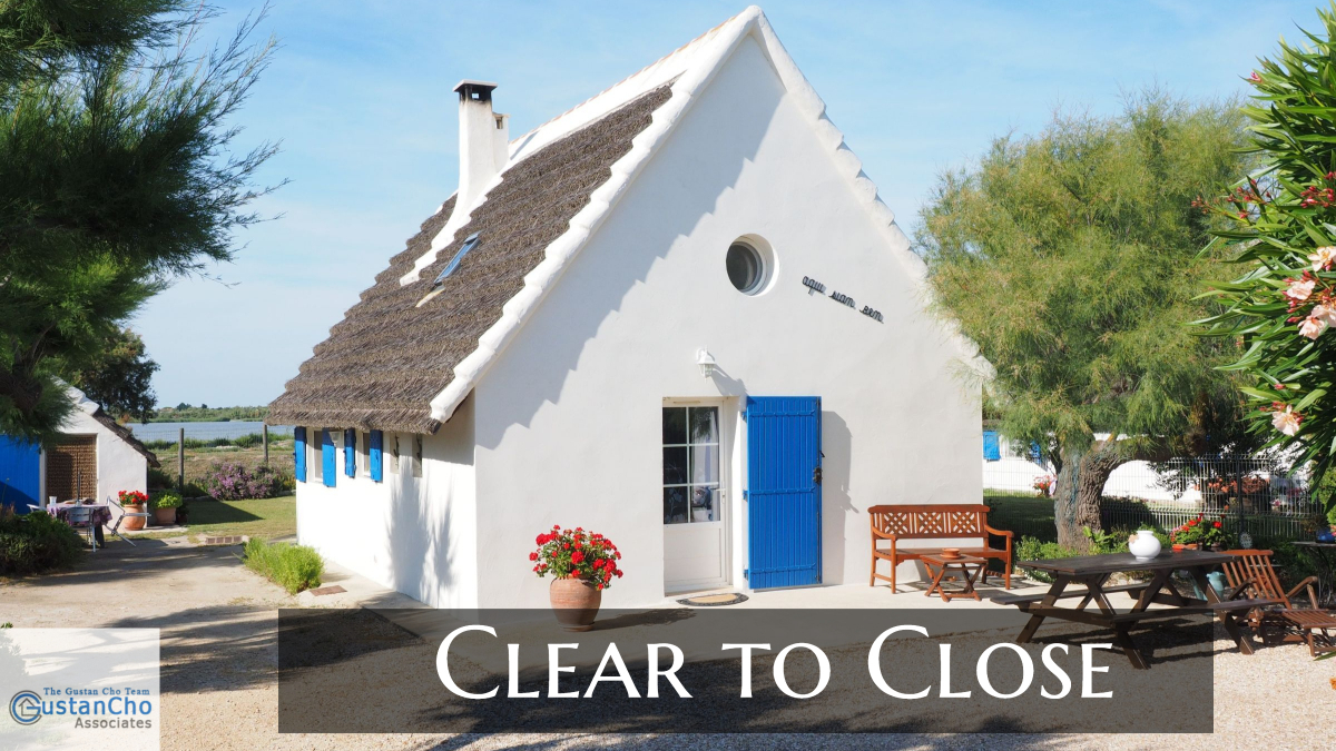 Clear to Close On Mortgage And Timeline From Application To CTC