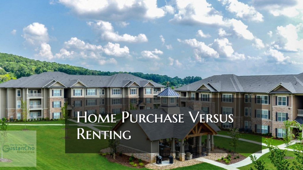 Home Purchase Versus Renting