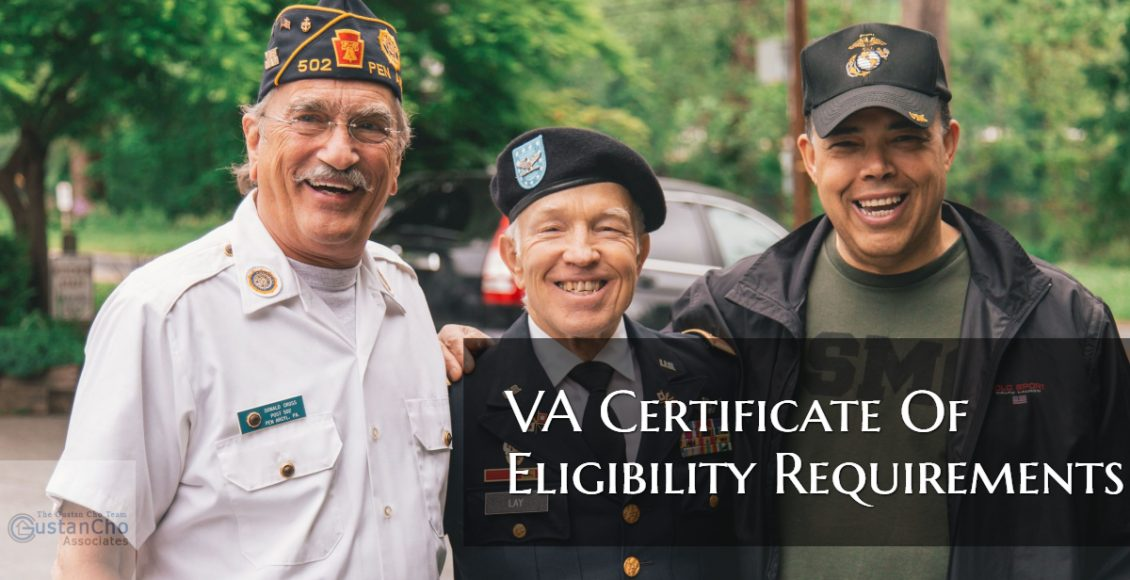 VA Certificate Of Eligibility Requirements
