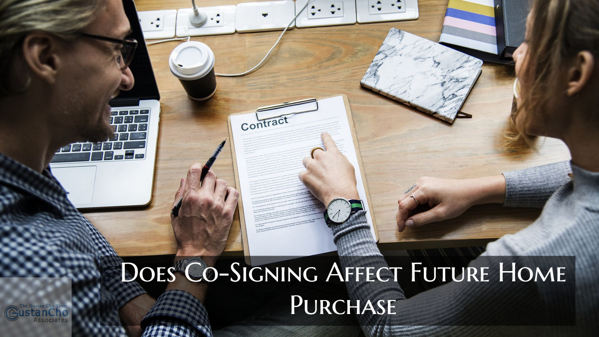 Does Co-Signing Affect Future Home Purchase