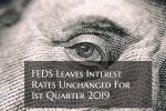 Federal Reserve Interest Rates Unchanged