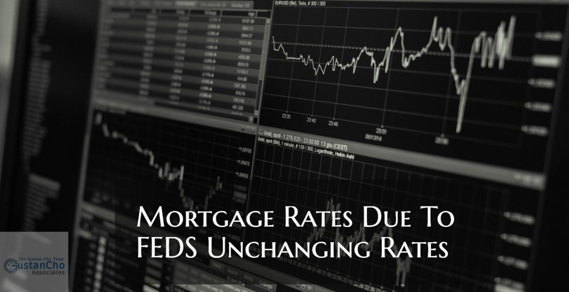 Mortgage Rates Due To Feds Unchanging Rates