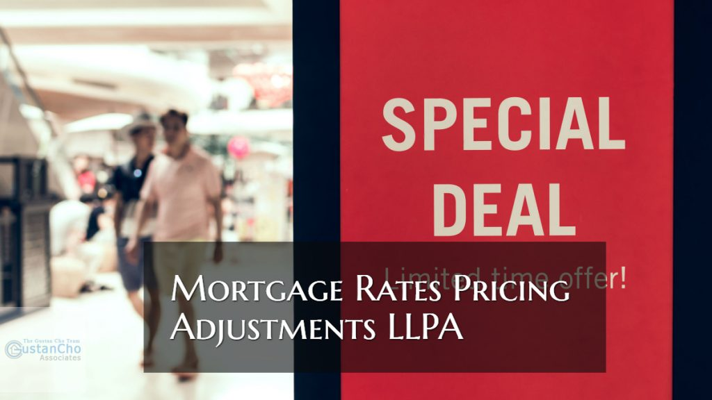 Mortgage Rates Pricing Adjustments