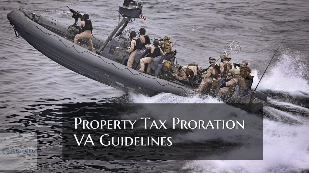 Property Tax Proration VA Guidelines