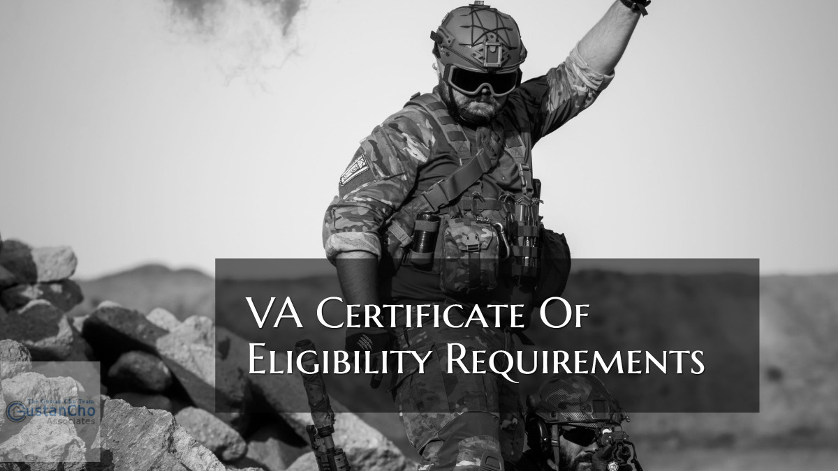Va Certificate Of Eligibility Guidelines On Va Loans