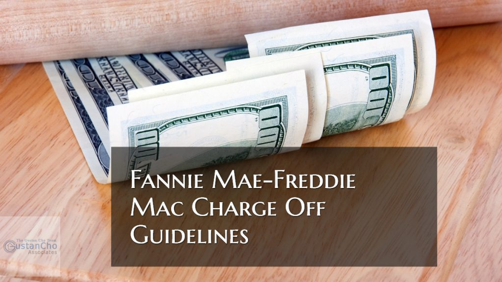 Fannie Mae-Freddie Mac Charge-Off Guidelines