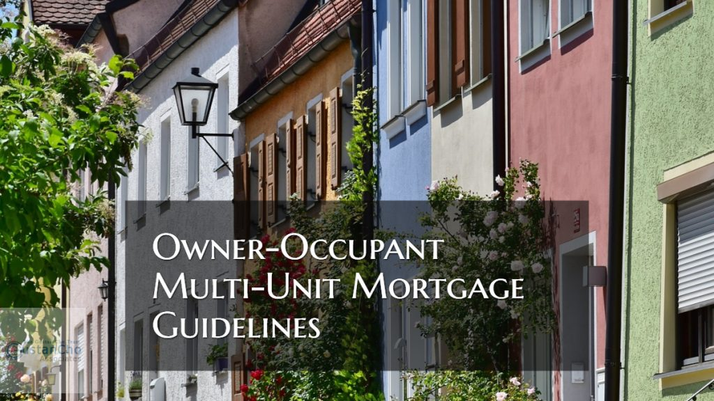 Owner-Occupant Multi-Family Mortgage Guidelines