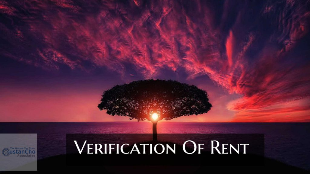 Verification Of Rent