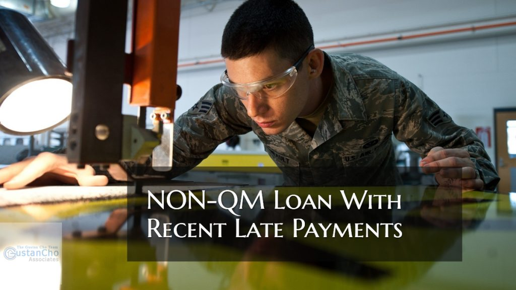 NON-QM Loan With Recent Late Payments
